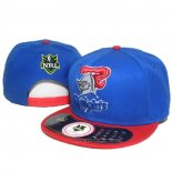 NRL Snapback Cappelli Newcastle Knights Blu Rosso