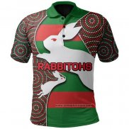 Maglia Polo South Sydney Rabbitohs Rugby 2021 Indigeno