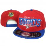NRL Snapback Cappelli Newcastle Knights Rosso Blu