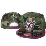 NRL Snapback Cappelli Manly Warringah Sea Eagles Camuflaje