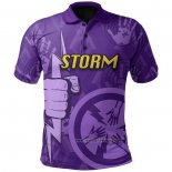 Maglia Polo Melbourne Storm Rugby 2021 Indigeno